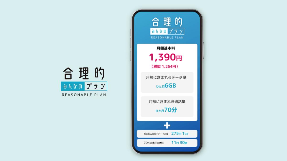 通話メインのスマホなら、日本通信SIM